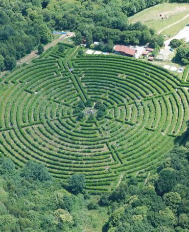 Le labyrinthe geant